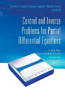 Control And Inverse Problems For Partial Differential Equations