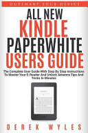All New Kindle Paperwhite Users Guide