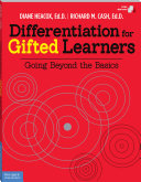 Differentiation for Gifted Learners