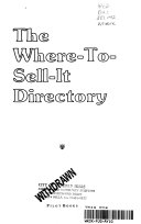 The Where-to-sell-it Directory