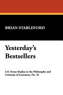 Pdf Yesterday's Bestsellers Telecharger
