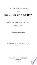 Journal of the Royal Asiatic Society of Great Britain   Ireland Book