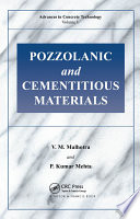 Pozzolanic and Cementitious Materials