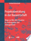 Projektabwicklung in der Bauwirtschaft