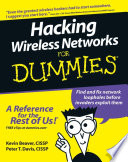 Hacking Wireless Networks For Dummies Book