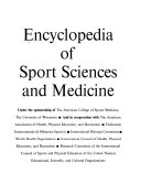 Encyclopedia Of Sport Sciences And Medicine