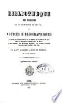 Bibliothèque des écrivains de la Compagnie de Jésus