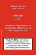 Mein Kampf  Student s   Teacher s Classroom Edition  Book