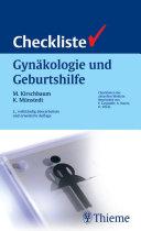Checkliste Gynäkologie und Geburtshilfe