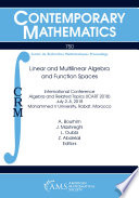 Linear and Multilinear Algebra and Function Spaces