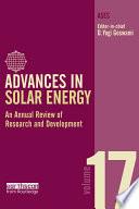Advances in Solar Energy  Volume 17 Book