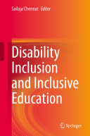 Disability Inclusion and Inclusive Education