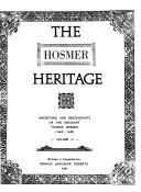 The Hosmer Heritage