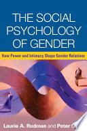 The Social Psychology Of Gender Book PDF