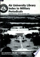 Air University Library Index to Military Periodicals