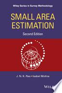 Cover of Small Area Estimation