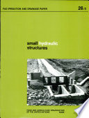 Small Hydraulic Structures Book