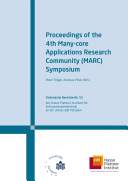 Proceedings of the 4th Many-core Applications Research Community (MARC) Symposium
