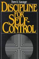 Discipline for Self-control