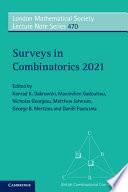 Surveys In Combinatorics 2021