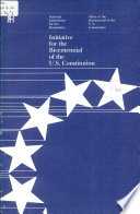 Initiative for the Bicentennial of the U S  Constitution