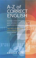 The A to Z of Correct English