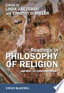 Readings In Philosophy Of Religion
