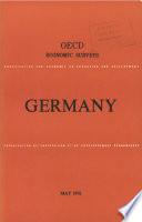 Oecd Economic Surveys Germany 1976