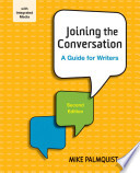 Joining the Conversation  : A Guide for Writers