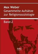 Gesammelte Aufsätze zur Religionssoziologie. Band 2: Hinduismus und ...
