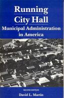 Running City Hall