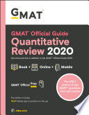 GMAT official guide quantitiative review 2020