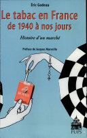 Le tabac en France de 1940 à nos jours