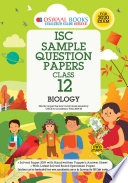 Oswaal ISC Sample Question Papers Class 12 Biology (For 2020 Exam)