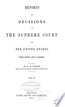 Reports of Decisions in the Supreme Court of the United States