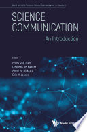 Science Communication An Introduction