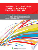 Methodological  Theoretical and Applied Advances in Behavioural Spillover