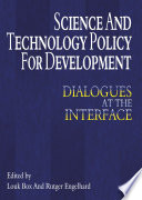 Science And Technology Policy For Development Book PDF