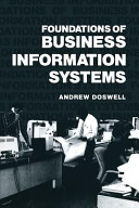 Foundations of Business Information Systems Book