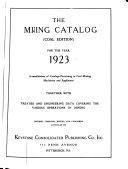 Coal Mining Catalogs Book