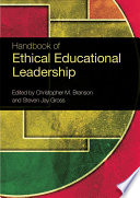 Handbook of Ethical Educational Leadership Book
