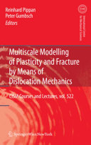 Pdf Multiscale Modelling of Plasticity and Fracture by Means of Dislocation Mechanics Telecharger