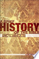 A Brief History Of The Bible Book PDF