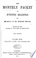 the monthly packet of evening readings for memebrs of the english church