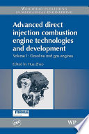 Advanced Direct Injection Combustion Engine Technologies And Development Book PDF
