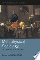 Metaphysical Sociology
