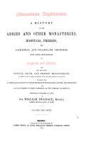 Monasticon Anglicanum