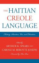 Pdf The Haitian Creole Language Telecharger
