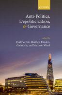 Anti-Politics, Depoliticization, and Governance Pdf/ePub eBook
