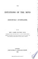 The Intitutions of the Mind Inductively Investigated